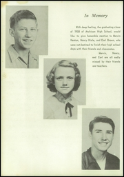 Page 14, 1958 Edition, Atchison High School - Trailblazer Yearbook (Atchison, KS) online yearbook collection