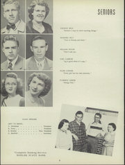 Page 10, 1951 Edition, Buhler High School - Mangonel Yearbook (Buhler, KS) online yearbook collection