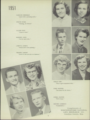 Page 11, 1951 Edition, Buhler High School - Mangonel Yearbook (Buhler, KS) online yearbook collection
