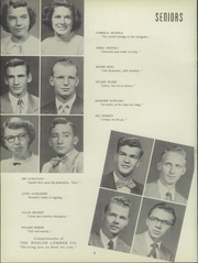 Page 12, 1951 Edition, Buhler High School - Mangonel Yearbook (Buhler, KS) online yearbook collection