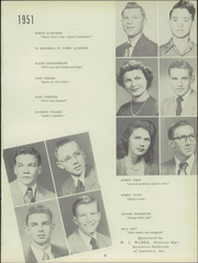 Page 13, 1951 Edition, Buhler High School - Mangonel Yearbook (Buhler, KS) online yearbook collection