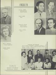 Page 9, 1951 Edition, Buhler High School - Mangonel Yearbook (Buhler, KS) online yearbook collection