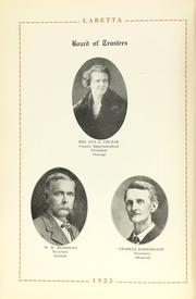 Page 12, 1923 Edition, Labette County High School - Grizzly Yearbook (Altamont, KS) online yearbook collection