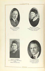 Page 16, 1923 Edition, Labette County High School - Grizzly Yearbook (Altamont, KS) online yearbook collection