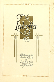 Page 5, 1923 Edition, Labette County High School - Grizzly Yearbook (Altamont, KS) online yearbook collection