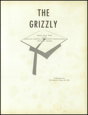 Page 5, 1956 Edition, Labette County High School - Grizzly Yearbook (Altamont, KS) online yearbook collection