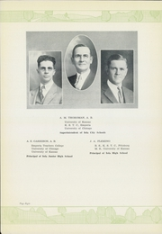 Page 10, 1929 Edition, Iola High School - Lamp Yearbook (Iola, KS) online yearbook collection