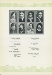 Page 12, 1929 Edition, Iola High School - Lamp Yearbook (Iola, KS) online yearbook collection