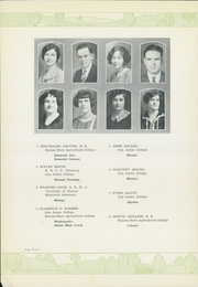 Page 14, 1929 Edition, Iola High School - Lamp Yearbook (Iola, KS) online yearbook collection