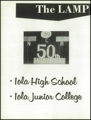 Page 6, 1958 Edition, Iola High School - Lamp Yearbook (Iola, KS) online yearbook collection