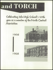 Page 7, 1958 Edition, Iola High School - Lamp Yearbook (Iola, KS) online yearbook collection