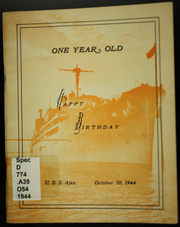 Page 1, 1944 Edition, Ajax (AR 6) - Naval Cruise Book online yearbook collection