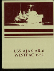 1982 Edition, Ajax (AR 6) - Naval Cruise Book