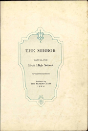 Page 1, 1924 Edition, Pratt High School - Mirror Yearbook (Pratt, KS) online yearbook collection
