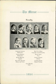 Page 10, 1924 Edition, Pratt High School - Mirror Yearbook (Pratt, KS) online yearbook collection