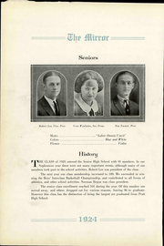 Page 12, 1924 Edition, Pratt High School - Mirror Yearbook (Pratt, KS) online yearbook collection