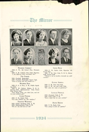 Page 13, 1924 Edition, Pratt High School - Mirror Yearbook (Pratt, KS) online yearbook collection