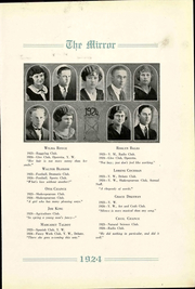 Page 15, 1924 Edition, Pratt High School - Mirror Yearbook (Pratt, KS) online yearbook collection