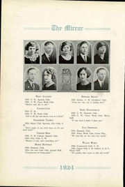 Page 16, 1924 Edition, Pratt High School - Mirror Yearbook (Pratt, KS) online yearbook collection