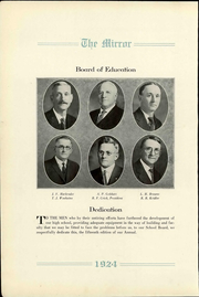 Page 4, 1924 Edition, Pratt High School - Mirror Yearbook (Pratt, KS) online yearbook collection