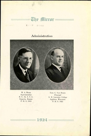 Page 7, 1924 Edition, Pratt High School - Mirror Yearbook (Pratt, KS) online yearbook collection