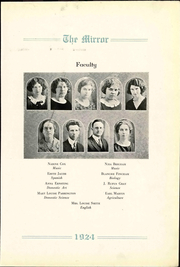 Page 9, 1924 Edition, Pratt High School - Mirror Yearbook (Pratt, KS) online yearbook collection