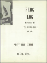 Page 7, 1956 Edition, Pratt High School - Mirror Yearbook (Pratt, KS) online yearbook collection