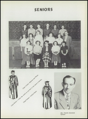 Page 13, 1952 Edition, Lansing High School - Lion Yearbook (Lansing, KS) online yearbook collection