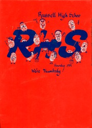 1981 Edition, Russell High School - Roundup Yearbook (Russell, KS)