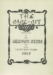 Page 5, 1907 Edition, Salina High School - Trail Yearbook (Salina, KS) online yearbook collection