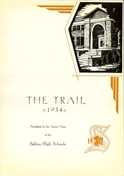 Page 7, 1934 Edition, Salina High School - Trail Yearbook (Salina, KS) online yearbook collection