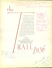 Page 9, 1936 Edition, Salina High School - Trail Yearbook (Salina, KS) online yearbook collection