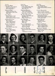 Page 17, 1940 Edition, Salina High School - Trail Yearbook (Salina, KS) online yearbook collection