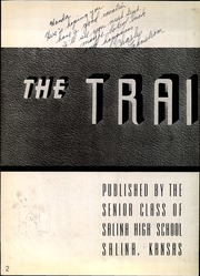 Page 8, 1940 Edition, Salina High School - Trail Yearbook (Salina, KS) online yearbook collection