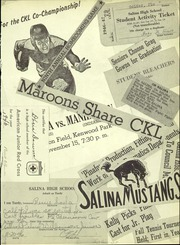 Page 13, 1947 Edition, Salina High School - Trail Yearbook (Salina, KS) online yearbook collection