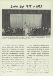 Page 11, 1953 Edition, Salina High School - Trail Yearbook (Salina, KS) online yearbook collection