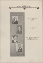 Page 12, 1924 Edition, Colby High School - Golden Eagle Yearbook (Colby, KS) online yearbook collection