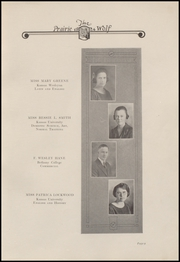 Page 13, 1924 Edition, Colby High School - Golden Eagle Yearbook (Colby, KS) online yearbook collection