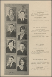 Page 10, 1930 Edition, Colby High School - Golden Eagle Yearbook (Colby, KS) online yearbook collection