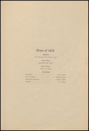 Page 7, 1930 Edition, Colby High School - Golden Eagle Yearbook (Colby, KS) online yearbook collection