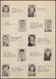 Page 15, 1949 Edition, Colby High School - Golden Eagle Yearbook (Colby, KS) online yearbook collection
