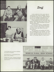 Page 10, 1955 Edition, Wamego High School - Wa Kaw Yearbook (Wamego, KS) online yearbook collection