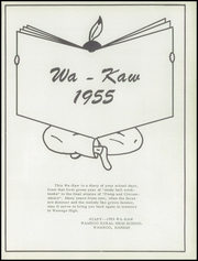 Page 5, 1955 Edition, Wamego High School - Wa Kaw Yearbook (Wamego, KS) online yearbook collection