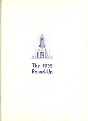 Page 5, 1932 Edition, Baylor University - Round Up Yearbook (Waco, TX) online yearbook collection