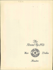 Page 7, 1953 Edition, Baylor University - Round Up Yearbook (Waco, TX) online yearbook collection