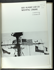 Page 4, 1966 Edition, Alamo (LSD 33) - Naval Cruise Book online yearbook collection