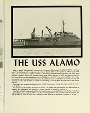 Page 9, 1980 Edition, Alamo (LSD 33) - Naval Cruise Book online yearbook collection