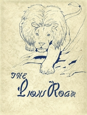 Page 1, 1958 Edition, Lyons High School - Lions Roar Yearbook online yearbook collection