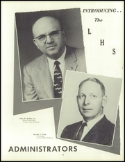 Page 9, 1958 Edition, Lyons High School - Lions Roar Yearbook online yearbook collection