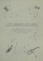 Page 7, 1959 Edition, Girard Rural High School - Trojan Yearbook (Girard, KS) online yearbook collection